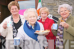 Enjoying the coffee morning to raise funds for the Killorglin Plouha twinning committee to mark the 10th anniversary of the iniatitive are: .L-R Mary O'Shea, Joan Keane, Teresa Machiaa and Eileen McGuillicuddy .