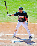 5 March 2010: Atlanta Braves' outfielder Melky Cabrera in action during a Spring Training game against the Washington Nationals at Champion Stadium in the ESPN Wide World of Sports Complex in Orlando, Florida. The Braves defeated the Nationals 11-8 in Grapefruit League action. Mandatory Credit: Ed Wolfstein Photo