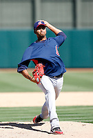 Rafael Perez  -  Cleveland Indians - 2009 spring training.Photo by:  Bill Mitchell/Four Seam Images