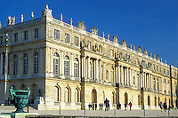 France, Versailles, palace, Ile de France, Paris, Yvelines, Europe, Gardens at Chateau de Versailles.