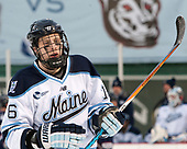 Dane Gibson (Maine - 16) - The University of Maine Black Bears defeated the University of Connecticut Huskies 4-0 at Fenway Park on Saturday, January 14, 2017, in Boston, Massachusetts.