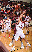 NWA Democrat-Gazette/ANDY SHUPE<br /> of Springdale of Tulsa (Okla.) Holland Hall Tuesday. Dec. 29, 2015, during the second half at Siloam Springs High School. Visit nwadg.com/photos to see more photographs from the game.