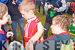 The Munster teams visit to Tralee Rugby club for an open training session which ran in conjunction with the Munster Rugby Summer Camp on Friday. Pictured is Danny Barnes signing autographs.