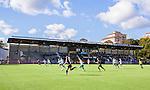 Stockholm 2015-09-27 Fotboll Damallsvenskan Hammarby IF DFF - FC Roseng&aring;rd :  <br /> Vy &ouml;ver Zinkensdamms IP mot huvudl&auml;ktaren under matchen mellan Hammarby IF DFF och FC Roseng&aring;rd <br /> (Foto: Kenta J&ouml;nsson) Nyckelord:  Fotboll Damallsvenskan Dam Damer Zinkensdamms IP Zinkensdamm Zinken Hammarby HIF Bajen FC Roseng&aring;rd utomhus exteri&ouml;r exterior supporter fans publik supporters