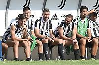 Villar Perosa (To) 17-08-2017 friendly Match Juventus A - Juventus B / foto Daniele Buffa/Image Sport/Insidefoto<br /> nella foto: Paulo Dybala-Miralem Pjanic-Andrea Barzagli-Gonzalo Higuain-Sami Khedira