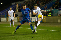 23rd November 2019; Caledonian Stadium, Inverness, Scotland; Scottish Championship Football, Inverness Caledonian Thistle versus Dundee Football Club; Miles Storey of Inverness Caledonian Thistle challenges for the ball with Josh Todd of Dundee  - Editorial Use