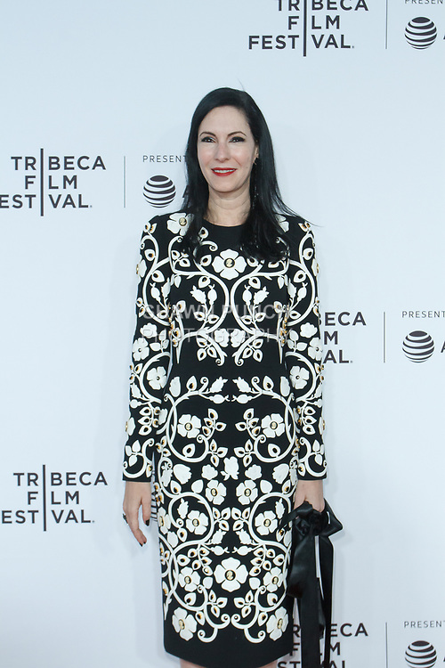 """Jill Kargman arrives at the Clive Davis: """"The Soundtrack Of Our Lives"""" world premiere for the Opening Night of the 2017 TriBeCa Film Festival on April 19, 2017 at Radio City Music Hall."""