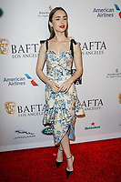05 January 2019 - Los Angeles, California - Lily Collins. the BAFTA Los Angeles Tea Party held at the Four Seasons Hotel Los Angeles.          <br /> CAP/ADM<br /> ©ADM/Capital Pictures