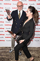 Julia Goulding &amp; Connor McIntyre at the Inside Soap Awards 2017 held at the Hippodrome, Leicester Square, London, UK. <br /> 06 November  2017<br /> Picture: Steve Vas/Featureflash/SilverHub 0208 004 5359 sales@silverhubmedia.com