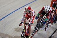 Picture by SWpix.com - 02/03/2018 - Cycling - 2018 UCI Track Cycling World Championships, Day 3 - Omnisport, Apeldoorn, Netherlands - Men's Points Race - Raman Ramanau of Belarus