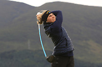 Amanda Linner (SWE) on the 2nd tee during Round 2 of the Women's Amateur Championship at Royal County Down Golf Club in Newcastle Co. Down on Wednesday 12th June 2019.<br /> Picture:  Thos Caffrey / www.golffile.ie