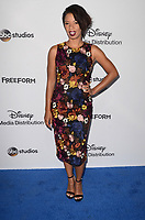LOS ANGELES - MAY 21:  Angel Parker at the 2017 ABC/Disney Media Distribution International Upfront at the Walt Disney Studios on May 21, 2017 in Burbank, CA