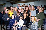 Patricia Cregan from Tralee, seated second from the left, celebrates her 70th birthday with family and friends in the Munster Bar  on Friday night last.