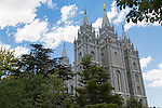 The Salt Lake Temple.
