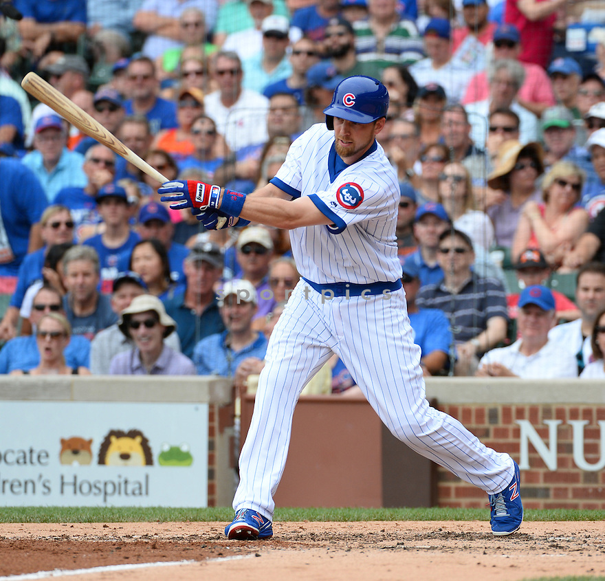 Chicago Cubs Ben Zobrist (18) during a game against the New York Mets on July 20, 2016 at Wrigley Field in Chicago, IL. The Cubs beat the Mets 6-2.