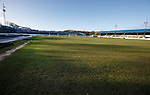 Central Park, Cowdenbeath and a sun drenched pitch after the game was called off