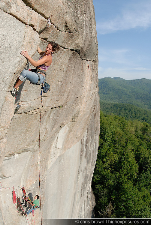 jeans, granite, steep, rock, climbing, adventure, girl, woman, female, fall, cam, adventure, north carolina, focus, rope, glass menagerie