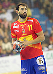 Spain's Daniel Sarmiento during 2018 Men's European Championship Qualification 2 match. November 2,2016. (ALTERPHOTOS/Acero)