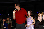Christian LeBlanc and fan - The Young and The Restless & fans as Genoa City Live celebrating over 40 years with on February 20, 2016 at the Wellmont Theatre, Montclair, NJ. on stage with questions and answers followed with autographs and photos in the theater.  (Photo by Sue Coflin/Max Photos)