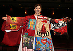 Jess LeProtto during the Actors' Equity Broadway Opening Night Gypsy Robe Ceremony honoring Jess LeProtto for 'Carousel' at the Imperial Theatre on April 12, 2018 in New York City.