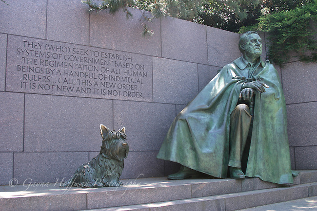 President Franklin D. Roosevelt Memorial. D.C.