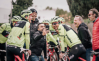 fun at the Team Trek-Segafredo training camp<br /> Mallorca jan2019<br /> <br /> &copy;kramon
