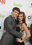 """One Life To Live's Andrew Trischitta """"Jack Manning"""" & Kelley Missal """"Danielle Manning"""" on the  Red Carpet at New York Premiere Event for beloved series """"One Life To Live"""" on April 23, 2013 at NYU Skirball, New York City, New York - as The Online Network (TOLN) - OLTL - AMC begin airing on April 29, 2013 on Hulu and Hulu Plus.  (Photo by Sue Coflin/Max Photos)"""