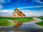 St Thomas a Becket Church, Fairfield, Kent, UK