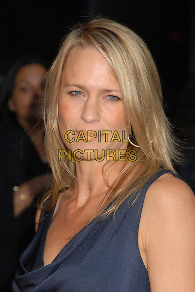"ROBIN WRIGHT PENN.""Into The Wild"" Los Angeles Premiere at the Director's Guild Theater, West Hollywood, California, USA..September 18th, 2007.headshot portrait .CAP/ADM/BP.©Byron Purvis/AdMedia/Capital Pictures."