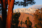 San Jacinto Mountains from Palm Springs