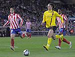 MADRID, Spain (14/02/10).-Liga BBVA de futbol. Partido Atletico de Madrid-FC Barcelona..Zlatan Ibrahimovic.©Raul Perez ..