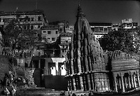 The Ghats Temple in Varanasi Uttar Pradesh India
