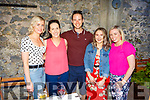 Enercon staff enjoying their BBQ in Benners on Friday evening.<br /> L to r: Martina Breen, Siobhan Flahive, Alan Roycroft, Ellen Hickey and Sinead Murphy.