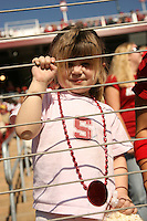 14 October 2006: Fans during Stanford's 20-7 loss to Arizona during Homecoming at Stanford Stadium in Stanford, CA.