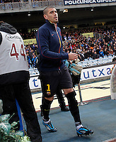 FC Barcelona's Victor Valdes during La Liga match.January 19,2013. (ALTERPHOTOS/Acero) /NortePhoto
