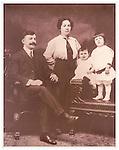 Old family photograph, Ben Kaplan family