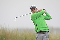 Jack Hearn (Tramore) on the 1st tee during Round 1 - Matchplay of the North of Ireland Championship at Royal Portrush Golf Club, Portrush, Co. Antrim on Wednesday 11th July 2018.<br /> Picture:  Thos Caffrey / Golffile