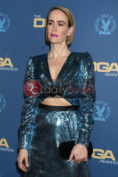 Sarah Paulson<br /> at the 71st Annual Directors Guild Of America Awards, Ray Dolby Ballroom, Hollywood, CA 02-02-19<br /> David Edwards/DailyCeleb.com 818-249-4998