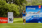 Punpaka Phuntumabamrung of Thailand tees off during the first round of the EFG Hong Kong Ladies Open at the Hong Kong Golf Club Old Course on May 11, 2018 in Hong Kong. Photo by Marcio Rodrigo Machado / Power Sport Images