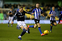 Aiden O'Brien of Millwall in action during Millwall vs Sheffield Wednesday, Sky Bet EFL Championship Football at The Den on 12th February 2019