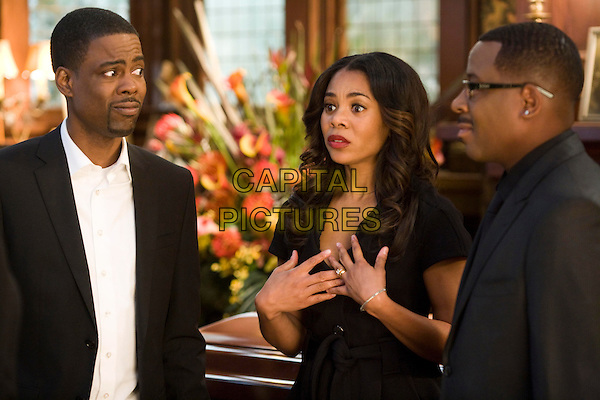 CHRIS ROCK, REGINA HALL & MARTIN LAWRENCE.in Death at a Funeral.*Filmstill - Editorial Use Only*.CAP/FB.Supplied by Capital Pictures.