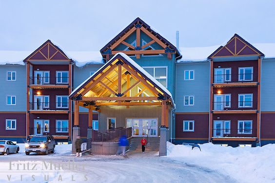 Canada Winter Games Athlete's Village and Yukon College Campus, Whitehorse, Yukon, Canada