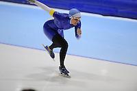 SCHAATSEN: HEERENVEEN: Thialf, 4th Masters International Speed Skating Sprint Games, 25-02-2012, Ragnild Andresen (F30) 3rd, ©foto: Martin de Jong