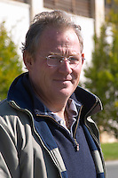 Bernard Lamaud, manager and winemaker chateau la dauphine fronsac bordeaux france