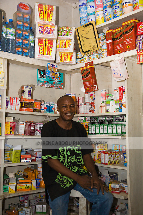 A proprietary patent medicine vendor (PPMV) in the Dakata area of Kano, Nigeria, displays Gold Circle and Lifestyles condoms on it shelves. Both products are distributed by the Society for Family Health (SFH), Nigeria's largest indigenous non-profit and affiliate of the international social marketing organization, Population Services International (PSI).