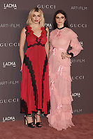 LOS ANGELES, CA - NOVEMBER 04: Lola Fruchtmann (L) and Tali Lennox attend the 2017 LACMA Art + Film Gala Honoring Mark Bradford and George Lucas presented by Gucci at LACMA on November 4, 2017 in Los Angeles, California.<br /> CAP/ROT/TM<br /> &copy;TM/ROT/Capital Pictures