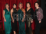 Committee members Aine Walsh, Cathy White, Fiona Stewart, Jacinta Walsh and Linda Flynn at the ABACAS Ball in the Westcourt Hotel. Photo:Colin Bell/pressphotos.ie