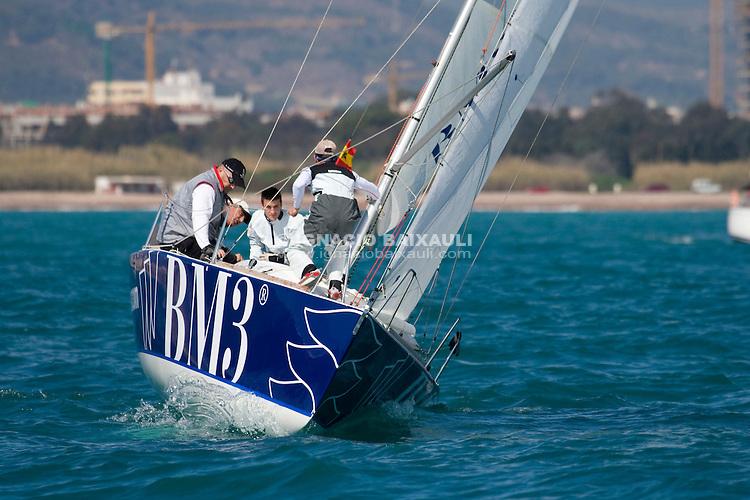 BM3 (Platu 25) Víctor Cebrian. CN Canet de Berenguer.08-03-2008...08-03-2008...Crucero...NIVEL 2...REGATA INICIO DE TEMPORADA...CN CANET D`EN BERENGUER...