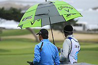Si Woo KIm (KOR) in action at Monterey Peninsula Country Club during the second round of the AT&amp;T Pro-Am, Pebble Beach Golf Links, Monterey, USA. 08/02/2019<br /> Picture: Golffile | Phil Inglis<br /> <br /> <br /> All photo usage must carry mandatory copyright credit (&copy; Golffile | Phil Inglis)