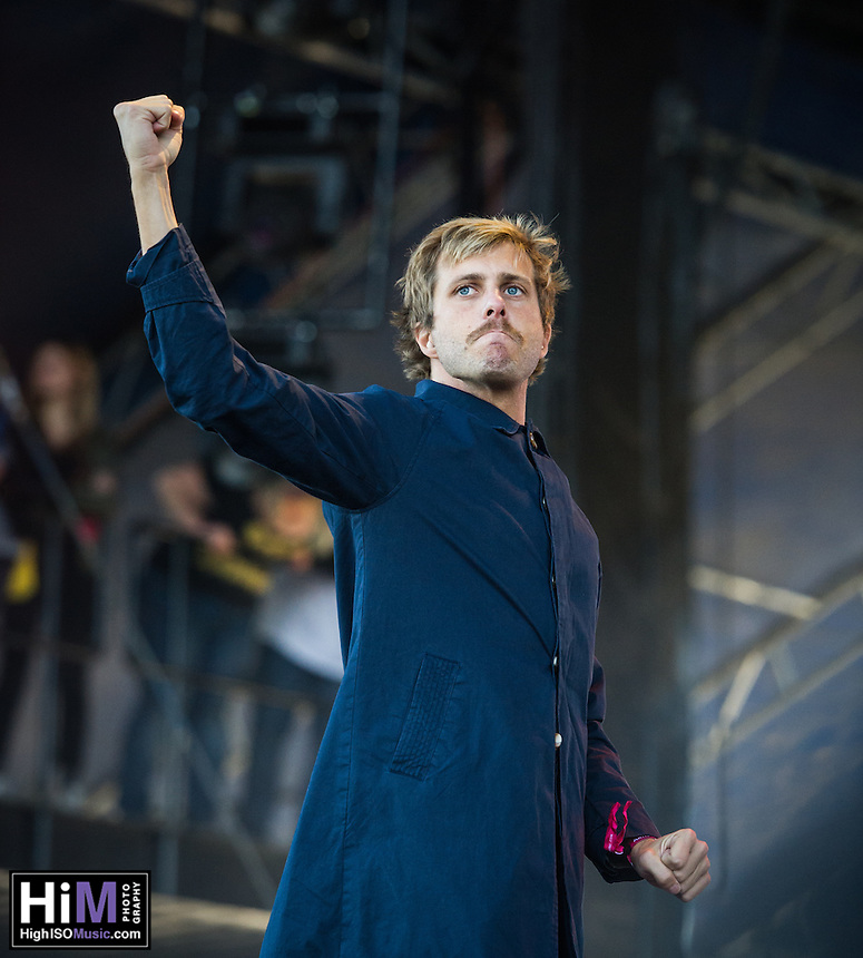 AWOLNATION performs at the 2014 Voodoo Music Experience.